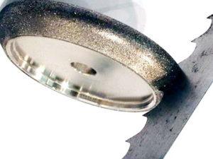 Круг для заточки биметаллических ленточных пил по металлу