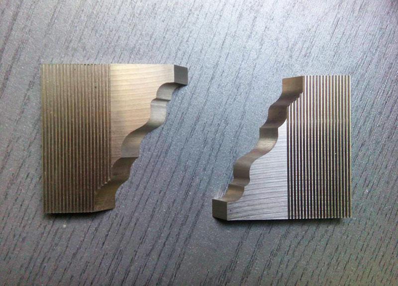 Ножи бланкетные для фрезерования под профилирование древесины
